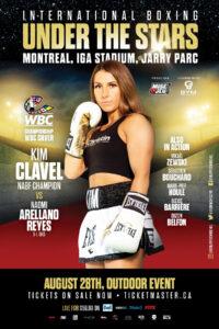 Kim Clavel faces Naomi Arellano Reyes in Montreal on August 28   Boxen247.com (Kristian von Sponneck)
