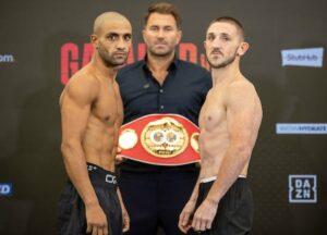 Jazza Dickens vs. Kid Galahad 2 full fight card weights from England | Boxen247.com (Kristian von Sponneck)