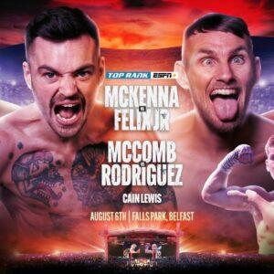Tyrone McKenna faces Jose Felix in Belfast this Friday | Boxen247.com (Kristian von Sponneck)