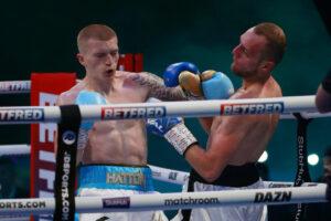 Campbell Hatton makes it 3-0 against Jakub Laskowski in England | Boxen247.com (Kristian von Sponneck)