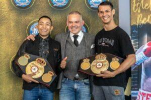 Esteban Bermúdez receives his WBA belt (huge photo gallery) | Boxen247.com (Kristian von Sponneck)