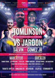 Tomlinson vs. Jardon tops a fantastic night in Sheffield on August 27   Boxen247.com (Kristian von Sponneck)