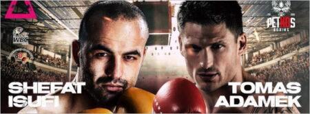 Shefat Isufi faces Tomas Adamek in Luebeck, Germany on September 4 | Boxen247.com (Kristian von Sponneck)