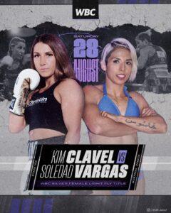 13-0 Kim Clavel faces María Soledad Vargas in Montreal this Saturday   Boxen247.com (Kristian von Sponneck)
