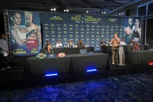 Jake Paul vs. Tyron Woodley final press conference quotes | Boxen247.com (Kristian von Sponneck)