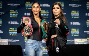 Amanda Serrano & Yamileth Mercado ready for war! | Boxen247.com (Kristian von Sponneck)
