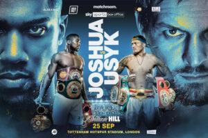 Joshua-Usyk on Sky Sports Box Office in UK (not DAZN) & full undercard | Boxen247.com (Kristian von Sponneck)