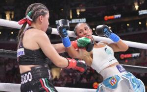 Amanda Serrano retains titles against Yamileth Mercado in Cleveland, USA | Boxen247.com (Kristian von Sponneck)