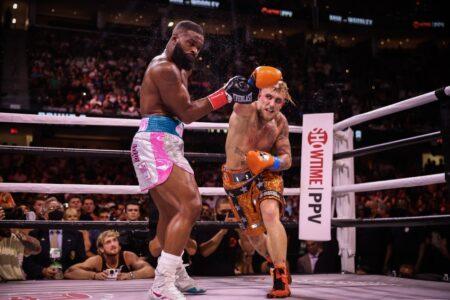 Jake Paul defeats Tyron Woodley in Cleveland, Ohio, USA | Boxen247.com (Kristian von Sponneck)