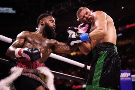 Montana Love defeats Ivan Baranchyk in Cleveland, Ohio, USA   Boxen247.com (Kristian von Sponneck)