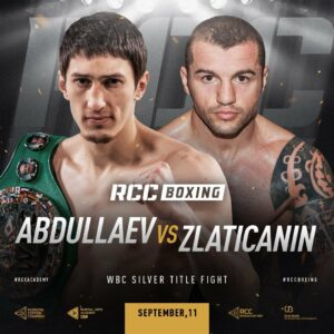 Zaur Abdullaev faces Dejan Zlaticanin in Russia on September 11   Boxen247.com (Kristian von Sponneck)
