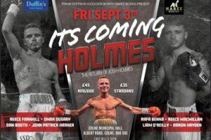Josh Holmes headlines against Jonny Phillips in Lancashire this Friday | Boxen247.com (Kristian von Sponneck)