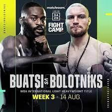 Joshua Buatsivows to pass his biggest test in facingRicards Bolotniks | Boxen247.com (Kristian von Sponneck)