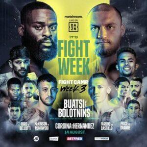 Joshua Buatsi defeats Ricards Bolotniks & results from Fight Camp 3 in UK | Boxen247.com (Kristian von Sponneck)