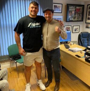 """The """"White Rhino""""Dave Allen returns in Sheffield on Fightzone August 27   Boxen247.com (Kristian von Sponneck)"""