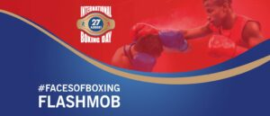"AIBA launches the International Boxing Day flashmob ""Faces of Boxing"" | Boxen247.com (Kristian von Sponneck)"