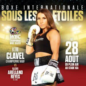 Kim Clavel faces Maria Vargas in Montreal, Canada on August 28   Boxen247.com (Kristian von Sponneck)