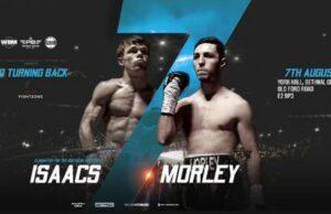 Dan Morley faces Louis Isaacs in a 50-50 fight in London this Saturday   Boxen247.com (Kristian von Sponneck)