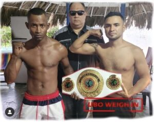 Josue Morales & Omny Padilla weigh-in ahead of UBO Latino title bout | Boxen247.com (Kristian von Sponneck)