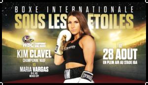 Kim Clavel now faces Maria Soledad Vargas in Montreal on August 28   Boxen247.com (Kristian von Sponneck)