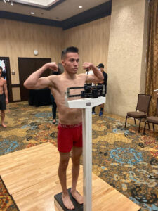 Kevin Montano & Tyler Marshall weigh in ahead of tonight in California   Boxen247.com (Kristian von Sponneck)