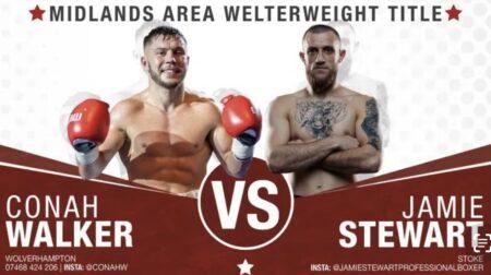 Conah Walker faces Jamie Stewart in Wolverhampton, England, this Friday | Boxen247.com (Kristian von Sponneck)