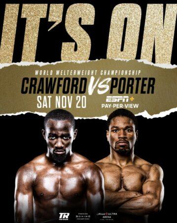Terence Crawford vs. Shawn Porter WBO title fight set for November 20 | Boxen247.com (Kristian von Sponneck)