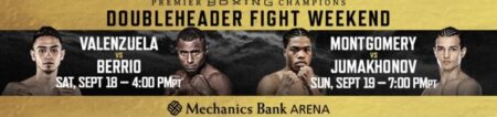 Valenzuela vs. Berrio & Montgomery vs. Jumakhonov on FS1 | Boxen247.com (Kristian von Sponneck)