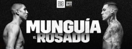 Jaime Munguia vs. Gabriel Rosado on November 13 on DAZN   Boxen247.com (Kristian von Sponneck)