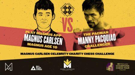 Manny Pacquiao vs. Magnus Carlsen: Seconds out, round 1 TOMORROW   Boxen247.com (Kristian von Sponneck)