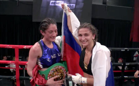 Jessica González defeats previously unbeaten Tatyana Zrazhevskaya | Boxen247.com (Kristian von Sponneck)