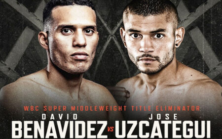 David Benavidez vs. José Uzcategui now on November 13   Boxen247.com (Kristian von Sponneck)