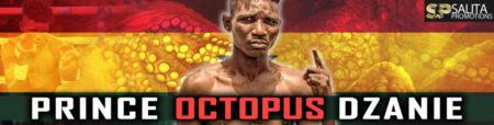 Prince Octopus Dzanie looking for bigger fights in the US | Boxen247.com (Kristian von Sponneck)