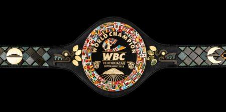 The WBC unveil another championship belt - The Teotihuacan Belt | Boxen247.com (Kristian von Sponneck)