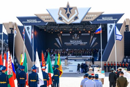 58th World Military Boxing Championships is officially opened in Moscow | Boxen247.com (Kristian von Sponneck)