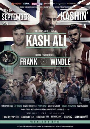 Kash Ali defeats Roman Gorst, Frank defeats Windle & Sheffield results | Boxen247.com (Kristian von Sponneck)
