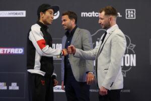Hughes vs. Straffon & Bateson vs. Garcia final press conference quotes   Boxen247.com (Kristian von Sponneck)