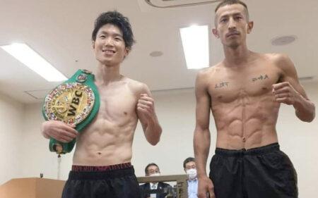 Kenshiro Teraji & Masamichi Yabuki weigh-in ahead of tomorrow night   Boxen247.com (Kristian von Sponneck)
