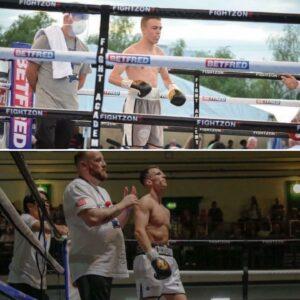 Unbeaten duo Harry Mullins & Nathan Mizon in action October 1 | Boxen247.com (Kristian von Sponneck)