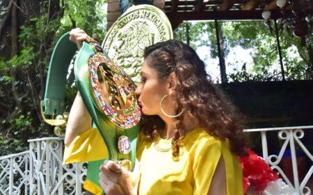 "Jessica ""Magnifica"" Gonzalez looking to face full WBC champ Yulihan Luna | Boxen247.com (Kristian von Sponneck)"
