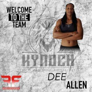 Dee Allen joins Kynoch Boxing and RF Sports Management | Boxen247.com (Kristian von Sponneck)