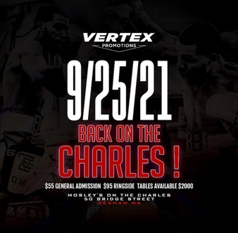 """""""Fight Night on the Charles at Moseley's III"""" FACT SHEET this Saturday   Boxen247.com (Kristian von Sponneck)"""