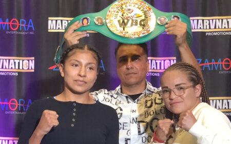 Adelaida Ruiz faces Nancy Franco for the WBC silver super flyweight title | Boxen247.com (Kristian von Sponneck)