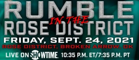 'Rumble in the Rose District' undercard results from Broken Arrow, USA | Boxen247.com (Kristian von Sponneck)