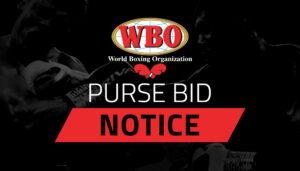 Purse bid for WBO welterweight champion Crawford vs. Porter Sept 14 | Boxen247.com (Kristian von Sponneck)