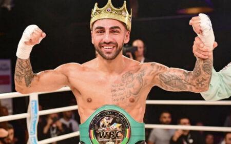 Artem Harutyunyan defeats Samuel Molina in Hamburg, Germany   Boxen247.com (Kristian von Sponneck)