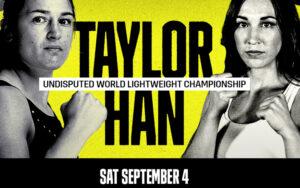 Katie Taylor defends her WBA, WBC, WBO & IBF crowns this Saturday | Boxen247.com (Kristian von Sponneck)