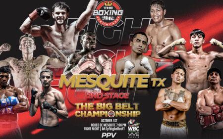 "Day two of ""The Big Belt Championship"" on WBC VIVE TV tomorrow | Boxen247.com (Kristian von Sponneck)"