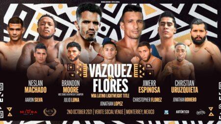 Miguel Vazquez-Oliver Flores headlines Mexican Fight Night this Saturday | Boxen247.com (Kristian von Sponneck)