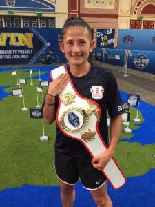 MTK Global signs amateur standout Nina Hughes | Boxen247.com (Kristian von Sponneck)